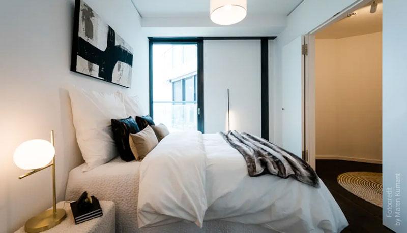 Abstrakte Kunst Schlafzimmer