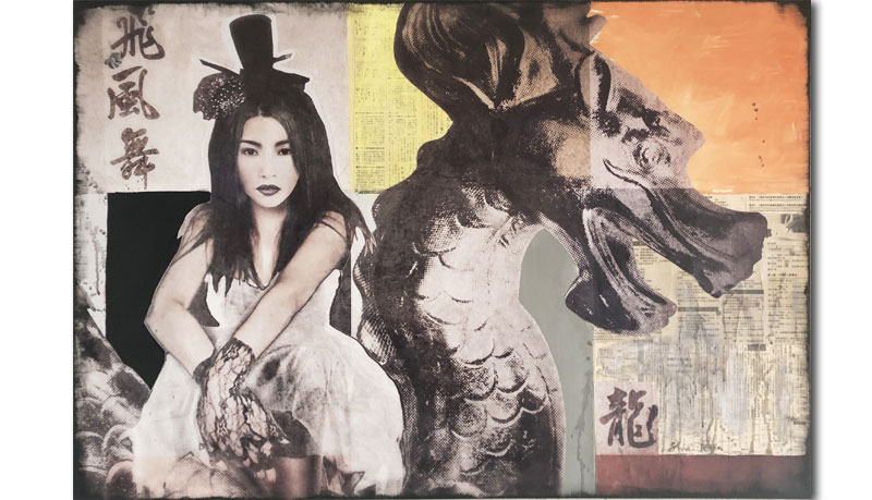 Asiatische Wandbilder_Drache