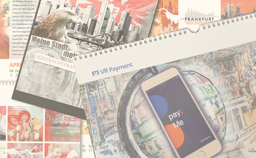 Ein individueller Firmenkalender als besonderes Firmenpräsent